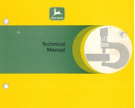 John Deere 2130 Technical Manual