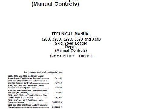 John-Deere 333d Repair Manual