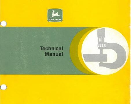 John Deere 3640 Technical Manual