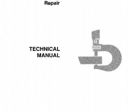 John Deere 410B, 410C, 510B, 510C Backhoe Loaders Repair Technical Manual