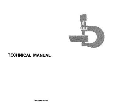 John Deere 30, 50 Excavators Technical Manual
