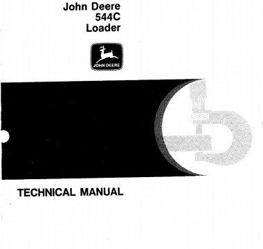 John Deere 544C Loader Technical Manual