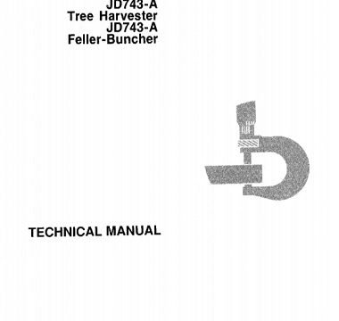 John Deere JD743A Technical Manual