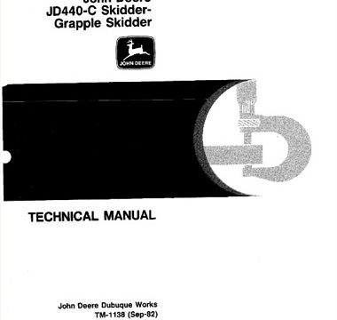 John Deere JD440-C Skidder Pdf Manual